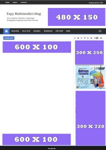 Advert page