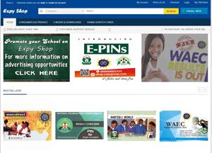 Expy Shop E-commerce website